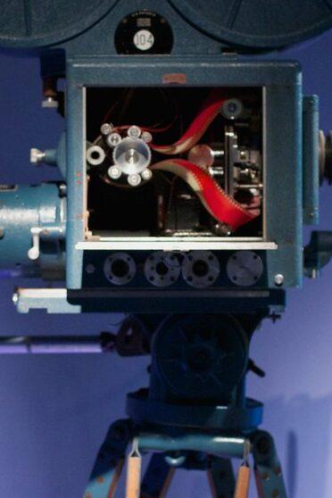 Technicolor 3-strip film movie camera