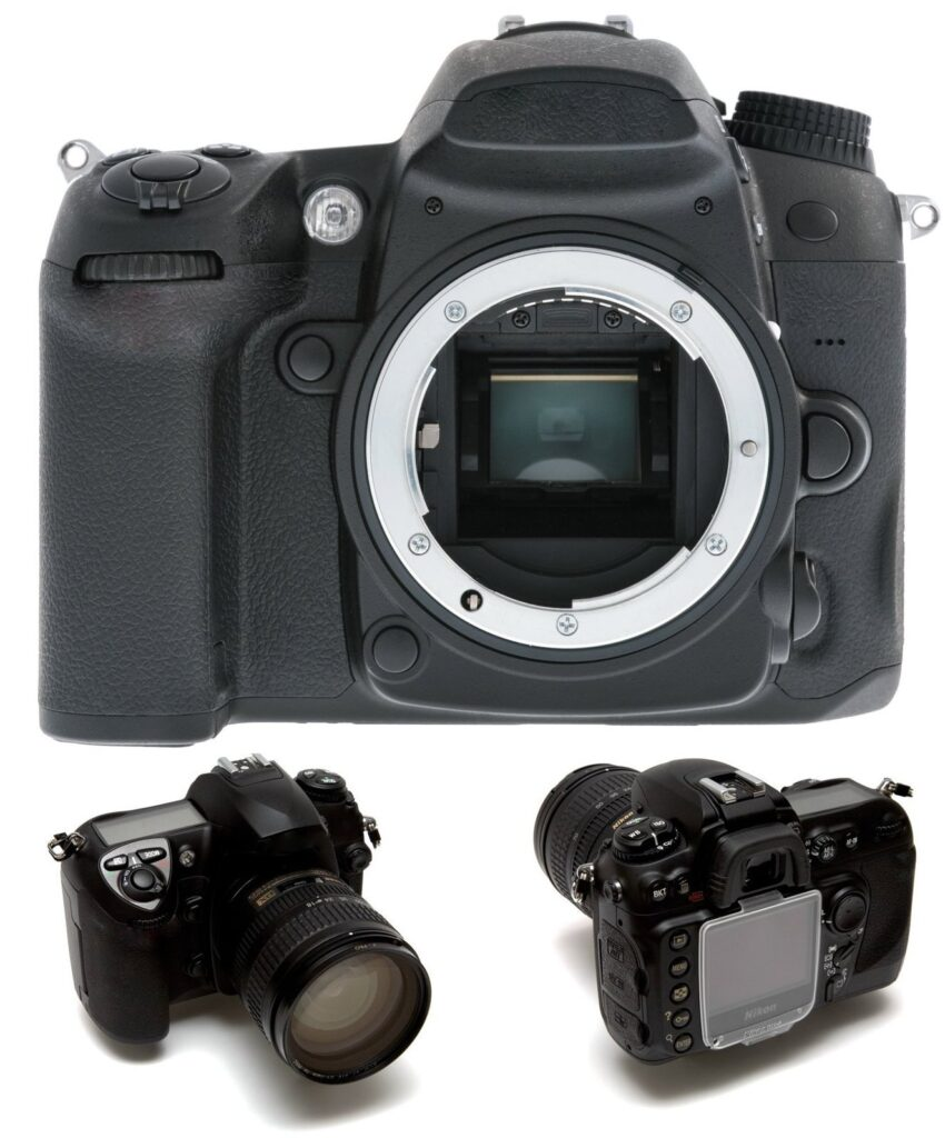 Body of a Nikon digital camera