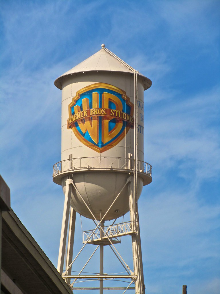 The Warner Brothers Studio Lot Water Tower